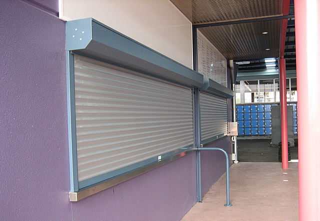 Commercial Roller Shutters Ar32 Amp Sar132 Eurotec Melbourne