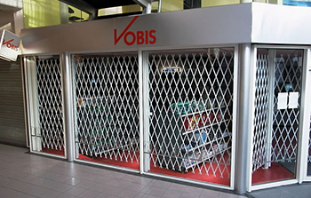 Expanding Steel Security Door & Steel Trellis Doors | Eurotec - Melbourne