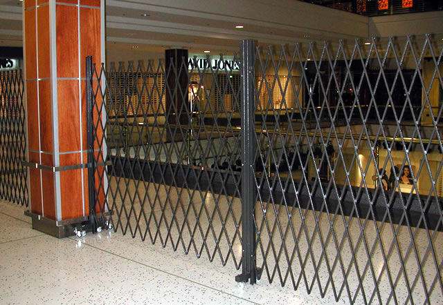 Installation  Mobile Trackless Trellis Security Door & Mobile Trackless Trellis Security Doors - Eurotec Melbourne