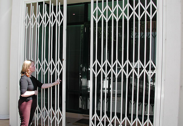 Pivoting Trellis Security Door Eurotec Melbourne