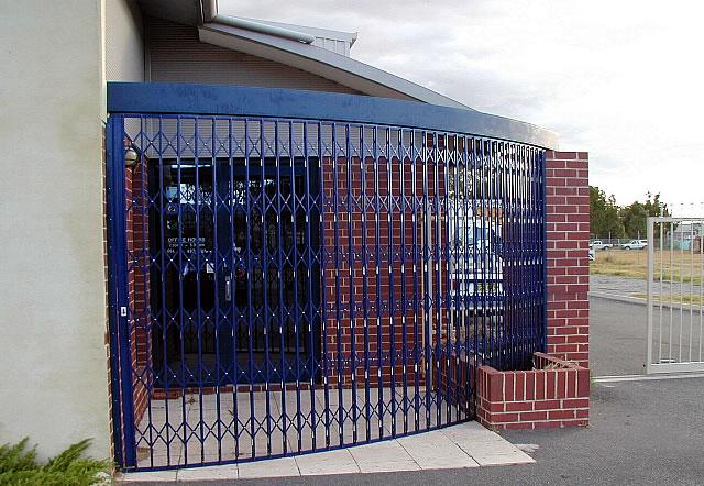 Curved Trellis Security Doors Eurotec Melbourne